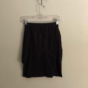 Nasty Gal Black Skirt